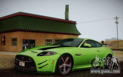Jaguar XKR-S GT 2013 for GTA San Andreas