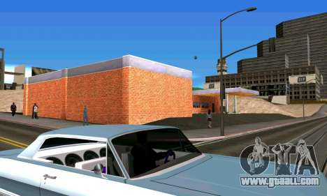 New garage in San Fierro for GTA San Andreas fifth screenshot