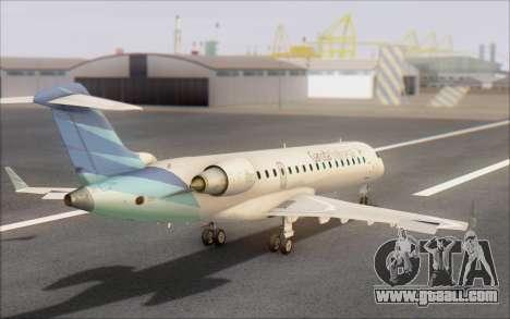 Garuda Indonesia Bombardier CRJ-700 for GTA San Andreas left view