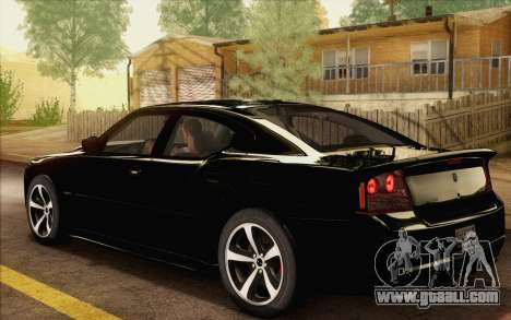 Dodge Charger SRT8 2006 for GTA San Andreas left view