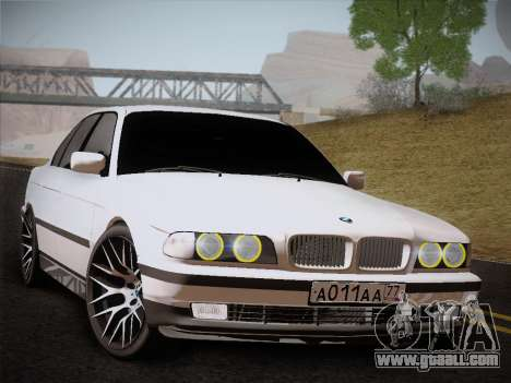 BMW 730d E38 1999 for GTA San Andreas