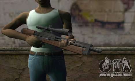Walther WA2000 for GTA San Andreas third screenshot