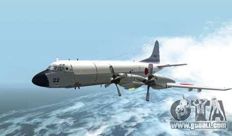 Lockheed P-3 Orion FAJ for GTA San Andreas