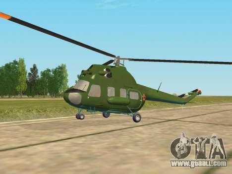 Mi 2 military for GTA San Andreas