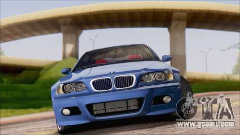 BMW M3 E46 2002 for GTA San Andreas left view