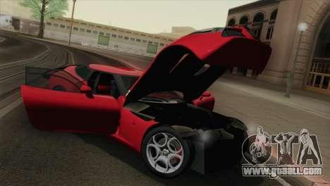 Alfa Romeo Zagato TZ3 2012 for GTA San Andreas inner view
