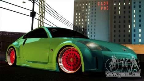 Nissan 350Z Minty Fresh for GTA San Andreas