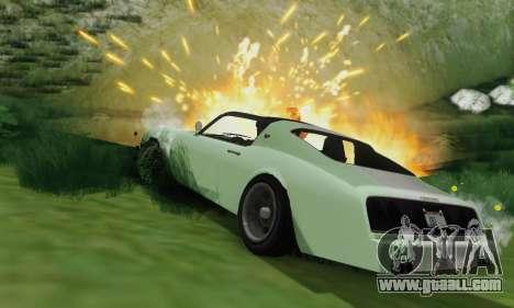 Imponte Phoenix из GTA 5 for GTA San Andreas upper view
