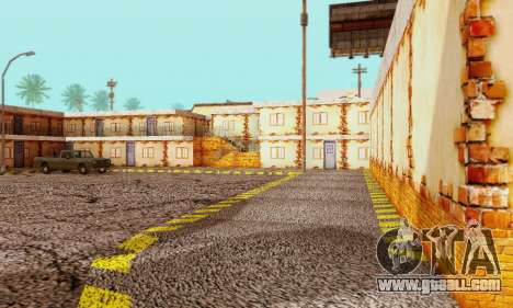 The new texture pizzerias and amenities at Delud for GTA San Andreas fifth screenshot