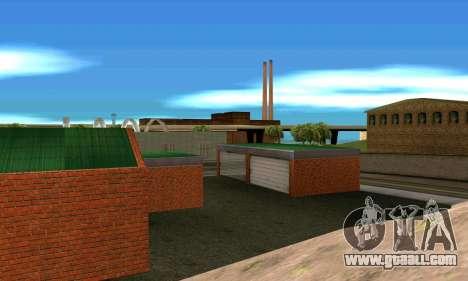 New garage in San Fierro for GTA San Andreas forth screenshot