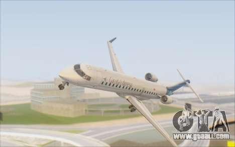 Garuda Indonesia Bombardier CRJ-700 for GTA San Andreas inner view