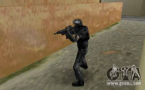 Fighter of Russian Spetsnaz from CS:CZ for GTA Vice City second screenshot