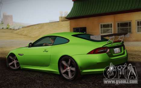 Jaguar XKR-S GT 2013 for GTA San Andreas left view