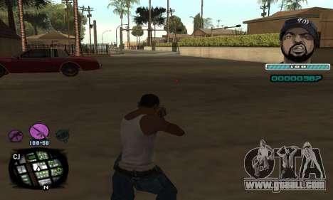 C-HUD Ice Cube for GTA San Andreas second screenshot