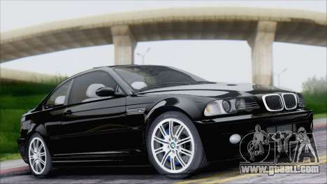 BMW M3 E46 2002 for GTA San Andreas inner view