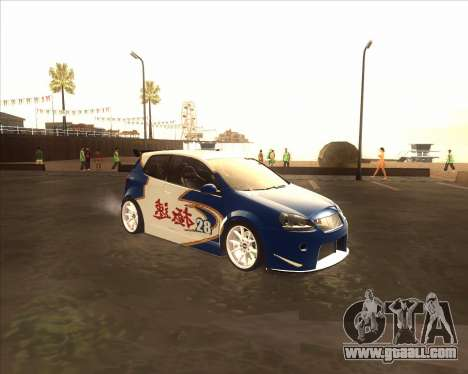 Volkswagen Golf из NFS Most Wanted for GTA San Andreas