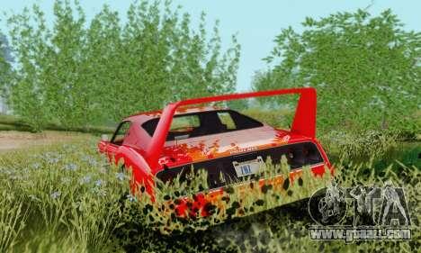 Imponte Phoenix из GTA 5 for GTA San Andreas back left view