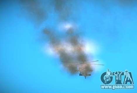AH-64 Longbow Apache for GTA San Andreas back view