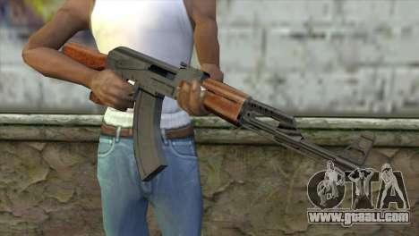 AK-47 Assault Rifle for GTA San Andreas third screenshot