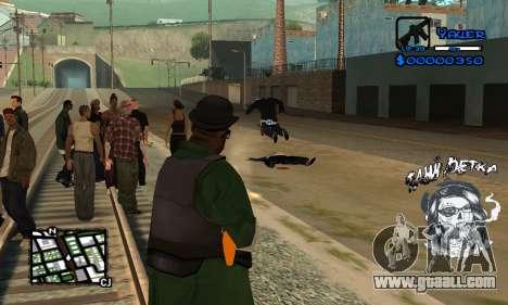 C-HUD Tawi Detka for GTA San Andreas