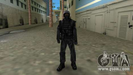 Fighter of Russian Spetsnaz from CS:CZ for GTA Vice City third screenshot