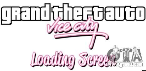 GTA 5 Boot screens GTA Vice City