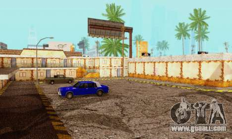 The new texture pizzerias and amenities at Delud for GTA San Andreas forth screenshot