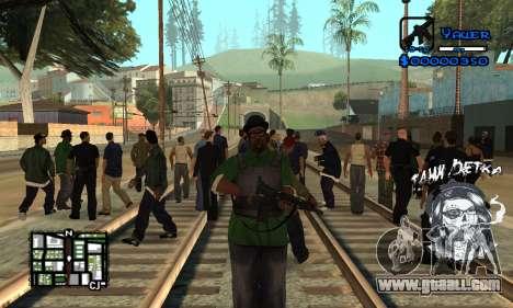 C-HUD Tawi Detka for GTA San Andreas second screenshot