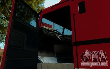 JoBuilt Hauler Fixet из GTA 5 for GTA San Andreas back left view