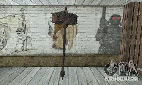 The axe of Skyrim for GTA San Andreas