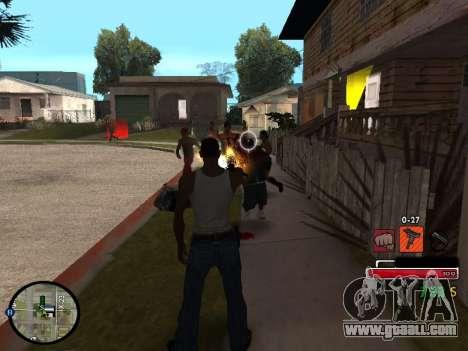 C-HUD by Martin for GTA San Andreas third screenshot