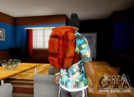 Backpack from the State of Decay for GTA San Andreas forth screenshot
