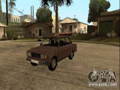 VAZ 2105 early version for GTA San Andreas