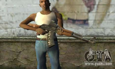 Point Blank AK47 Elite for GTA San Andreas third screenshot