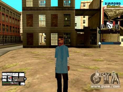 C-HUD Unity for GTA San Andreas