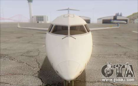 Garuda Indonesia Bombardier CRJ-700 for GTA San Andreas back view