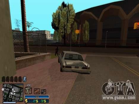 C-HUD By Stafford for GTA San Andreas eighth screenshot
