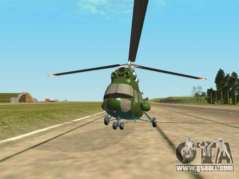 Mi 2 military for GTA San Andreas back left view
