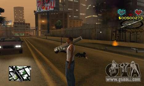 C-HUD New Liberia for GTA San Andreas third screenshot