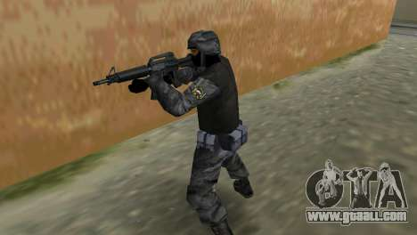 Fighter of Russian Spetsnaz from CS:CZ for GTA Vice City forth screenshot