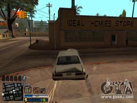 C-HUD By Stafford for GTA San Andreas seventh screenshot