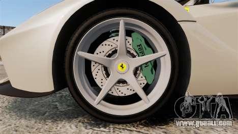 Ferrari LaFerrari Spider v2.0 for GTA 4 back view
