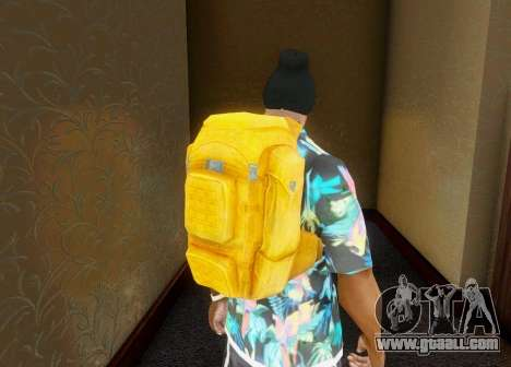Backpack from the State of Decay for GTA San Andreas third screenshot
