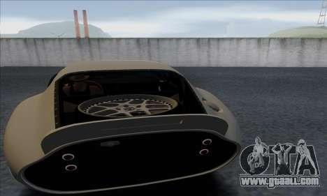 Shelby Cobra Daytona for GTA San Andreas back view