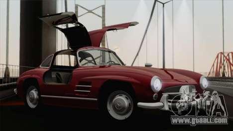 Mercedes-Benz 300SL 1955 for GTA San Andreas