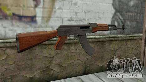 AK-47 Assault Rifle for GTA San Andreas second screenshot