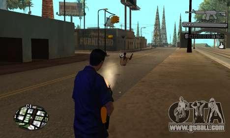 C-HUD Smoke for GTA San Andreas third screenshot