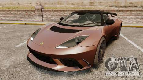 Lotus Evora GTE Mansory for GTA 4