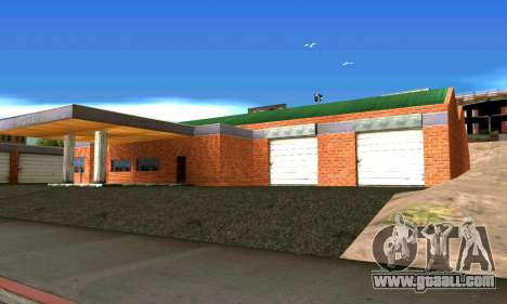 New garage in San Fierro for GTA San Andreas second screenshot