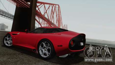 Alfa Romeo Zagato TZ3 2012 for GTA San Andreas right view